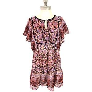 Urban Outfitters Ecote Dress Boho Floral Medium